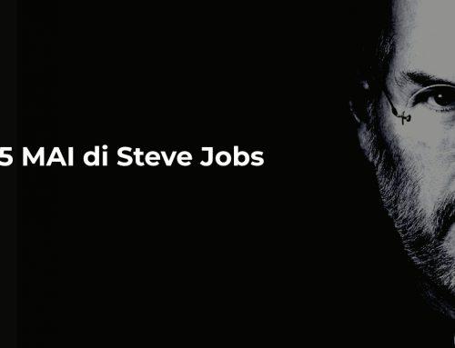 5 MAI di Steve Jobs